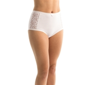 Picture of 25% off RRP Triumph Cotton and Lace Full Brief 10000199